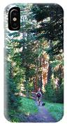 On A Hike IPhone Case