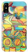 One Day On The Lake IPhone Case