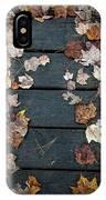 Original Autumn Foliage IPhone Case