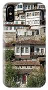 Ottoman Architecture View In Historic Berat Old Town Albania IPhone Case