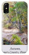 Pennsylvania Autumn IPhone Case