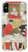 Possibly Johannes De Ketham IPhone Case