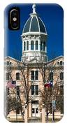 Presidio County Courthouse IPhone Case