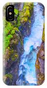 Pyrenees Waterfall IPhone Case