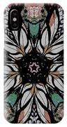 Quilted Starflower IPhone Case