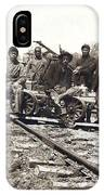 Railroad Workers IPhone Case