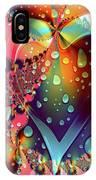Raining In My Heart IPhone Case