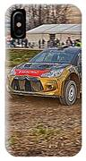 Rally Car IPhone Case