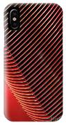 Red Classic Car Details IPhone Case
