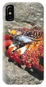 Red Rock Crab IPhone Case