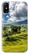 Rice Terrace IPhone Case