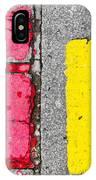 Road Markings IPhone Case