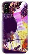 Robin Erithacus Rubecula Bird  IPhone Case