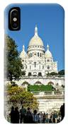 Sacre-coeur /  Basilica Of The Sacred Heart Of Paris IPhone Case