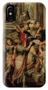 Saint Paul And Saint Barnabas At Lystra IPhone Case