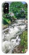 Salmon Hatchery Creek In Mountains Of Alaska IPhone Case