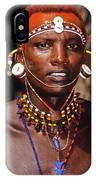 Samburu Warrior IPhone Case