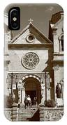 Santa Fe - Basilica Of St. Francis Of Assisi IPhone Case