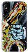 Sax Co-notations IPhone Case