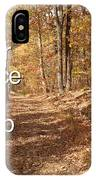 Slippery Slope - Text Square IPhone Case