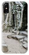 Souvenir Trinket Stall Vendor In Angkor Wat Famous Temple Cambod IPhone Case