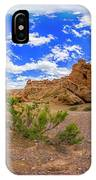 Spherical Panorama From A Canyon Charyn IPhone Case