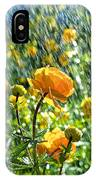 Spring Flowers In The Rain IPhone Case