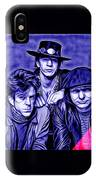 Stevie Ray Vaughan And Double Trouble Collection IPhone Case