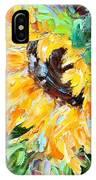 Sunflower Joy IPhone Case