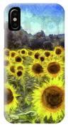 Sunflowers Van Gogh IPhone Case