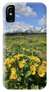 Teton Balsam Root IPhone Case