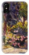 The Flowered Terrace IPhone Case