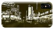 The Las Vegas Strip IPhone X Case