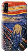 The Scream Ver 1895 Edvard Munch IPhone Case
