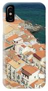 The View From The Rocca De Cefalu IPhone Case