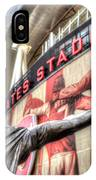 Tony Adams Statue Emirates Stadium IPhone Case