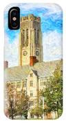 University Hall IPhone Case