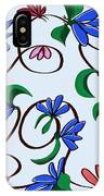 untitled  Floral IPhone Case