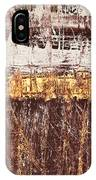 Untitled No. 3 IPhone Case