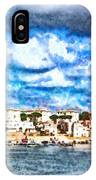View Of Brindisi From The Ship IPhone Case