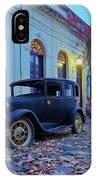 Vintage Cars In Colonia Del Sacramento, Uruguay IPhone Case
