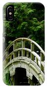 Virginia Bridges -japanese Garden IPhone Case