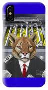 Wall Street Predator IPhone Case
