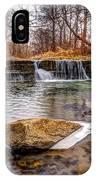 Walnut Creek Waterfall IPhone Case
