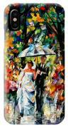 Wedding Under The Rain IPhone Case
