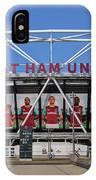 West Ham Fc Stadium London IPhone Case