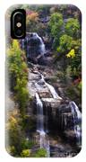 Whitewater Falls In Nc IPhone Case