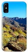 Wildflowers On Rocks, Anza Borrego IPhone Case