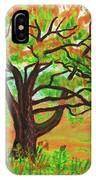Willow Tree, Painting IPhone Case