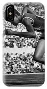 Wilma Rudolph (1940-1994) IPhone Case